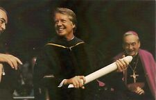 President Jimmy Carter Receives Honorary Degree at Notre Dame Postcard