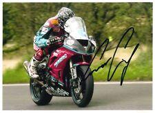Conor Cummins 7x5 firmado TT UGP NW200 Superbikes