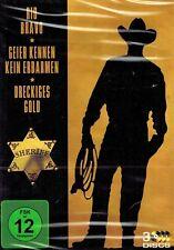 DVD-BOX - John Wayne - Rio Bravo / Geier kennen kein Erbarmen / Dreckiges Gold
