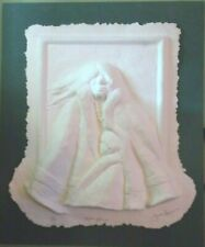 """James Darum """"Mother Love"""" Southwest Indian 3D Paper Cast Relief Signed, Numbered"""