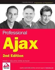 Professional Ajax, 2nd Edition by Nicholas C. Zakas, Jeremy McPeak, Joe Fawcett