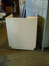 Kiosk Small Retail Register Counter Cream Tan With Drawers 36 X 26 X 445