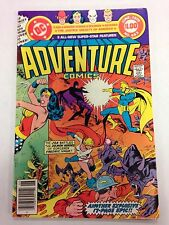 Adventure Comics #463 June 1979 Wonder Woman Flash Aquaman 68 page giant