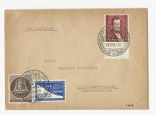 Briefmarken aus Berlin (1950-1951) mit Mischfrankatur