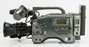 JVC GY-550U with Fujinon lens, viewfinder and mic