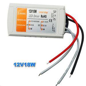 Power supply ALIMENTATORE DRIVER per LED 12V 24V 18W 30W 60W 120W