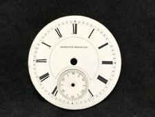 Antique Hampden Single Sunk 18s Pocket Watch Dial Face, Roman Script ref 21923