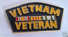 *** VIETNAM VETERAN *** Military Veteran Hat Pin 14138 HO