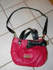 BETSEY JOHNSON BR10025 BERRY SATCHEL NEW W/OUT TAGS! FAUX LEATHER *VEGAN*