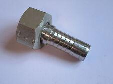 "1/2"" Hydraulic Hose Connector Swivel Female 60° Cone Insert Adaptor #12L354"