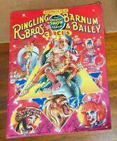 Rare 1989 Ringling Bros. Barnum & Bailey Circus 118th Edition Souvenir Program
