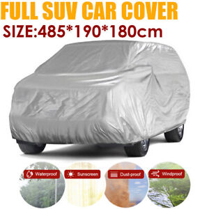 SUV Cover Car Outdoor Indoor Snow Dust Sun Protection Large For Hyundai Santa Fe
