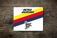 Retro Burner - Mouse Mat - Bike Ninja Cycling Inspired by Raleigh