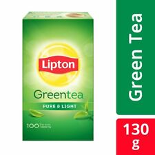 Lipton Pure and Light Green Tea Bags, 130g (100 Pieces) free shipping  UK
