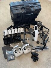 DJI Inspire 1 Raw X5R Drone -FULL KIT- 6 Batteries/2 Remotes/Case/2 Lens/Extras