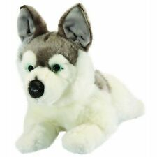 HUSKY DOG - LIVING NATURE LARGE REALISTIC SOFT FLUFFY PLUSH TEDDY TOY