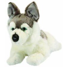 HUSKY DOG - LIVING NATURE LARGE REALISTIC SOFT FLUFFY PLUSH TEDDY TOY