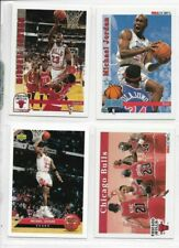 (4) 1992-93  MICHAEL JORDAN - Hoops Upper Deck  Basketball Card Lot