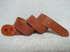 LUCKY BRAND -Women's Casual Fashion Belt -Brown Leather Floral Buckle -Size XS
