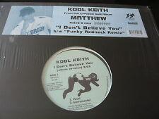 """KOOL KEITH...MATTHEW...HIP HOP RAP 12"""" SINGLE IMPORT...MINTY"""