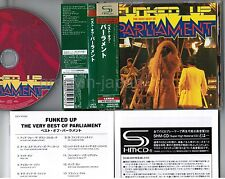 PARLIAMENT Funked Up: The Very Best of JAPAN SHM-CD UICY-91052 w/OBI+BOOKLET