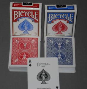 72 NEW DECKS BICYCLE PLAYING POKER CARDS TEXAS HOLD-EM
