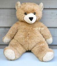 "Large Teddy Bear Jockline Italy 28"" tall Applause 1982 Avanti soft stuffed"