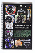 The Rolex Watch Collector & Investor Guide Book Submariner 5513 GMT President