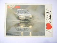 VECCHIA CARTOLINA anni '80 / Postcard MARKKU ALEN SUBARU Finland