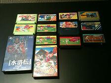 culte nintendo lot 13 jeux famicom version jap