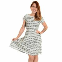 RUN AND FLY Vintage Bicycle Dress Cute Quirky Cycling 8 10 12 14 16 18