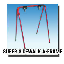 Super Sidewalk A-Frame in Red Real Estate Retail Office Business More Steel