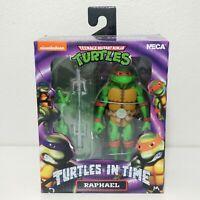 NECA RAPHAEL Action Figure Teenage Mutant Ninja Turtles In Time TMNT NIB