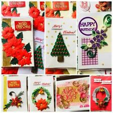 Paper quilling card hand made Christmas Birthday Anniversary Greeting Card