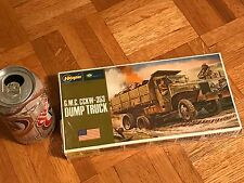 WW#2 - U.S. ARMY G.M.C. CCKW-353 DUMP TRUCK, Plastic Model Truck Kit, Scale 1:72