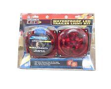 Optronics Waterproof LED Trailer Light Kit TLL9RK w/ bracket, hardware & harness