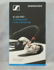 Sennheiser IE 400 PRO In-Ear Headphones For Wireless Monitoring Systems Clear