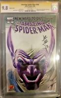 MARVEL Comics AMAZING SPIDER-MAN #568 CGC SS 9.8 Alex Ross Negative Goblin VENOM