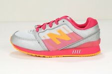 NEW BALANCE Kids' 751 KL751GPG Grey/Pink/Orange (msrp: $60)