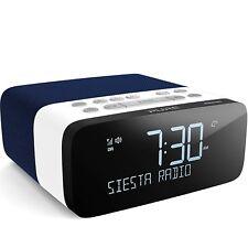 Pure Siesta Rise S Alarm Clock Radio with Bluetooth - Digital DAB+ / FM Radio