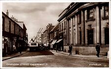 Chesterfield. Cavendish Street # 216762 by Valentine's. Trolley Bus.