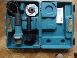 Makita 9554NBKD 4.5 inch/115mm Angle Grinder (240V)