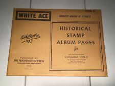 New Package White Ace Pages Commemorative Copyright Blocks Cob 5 1982