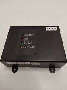 SOLA RELAYCARD-SDU UPS Alarm Relay Box 2x Relays Bat Low AC Failure RS-232 12VDC