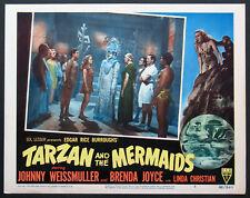 TARZAN AND THE MERMAIDS JOHNNY WEISSMULLER BRENDA JOYCE 1948 LOBBY CARD #5