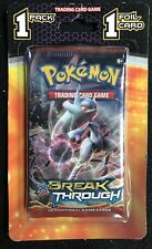 Pokemon XY BreakThrough booster pack  + 1 foil NEW factory sealed