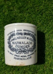 Rare Early Keiller & Sons Marmalade International Exibition 1862