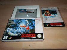 Terranigma AUS sgZ/VGC/TBE OVP/CIB boxed Super Nintendo SNES PAL