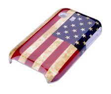 Hülle f Samsung Galaxy Y S5360 Schutzhülle Tasche Case Cover USA Amerika Flagge