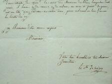 Le comte de Coigny demande les faveurs du roi.
